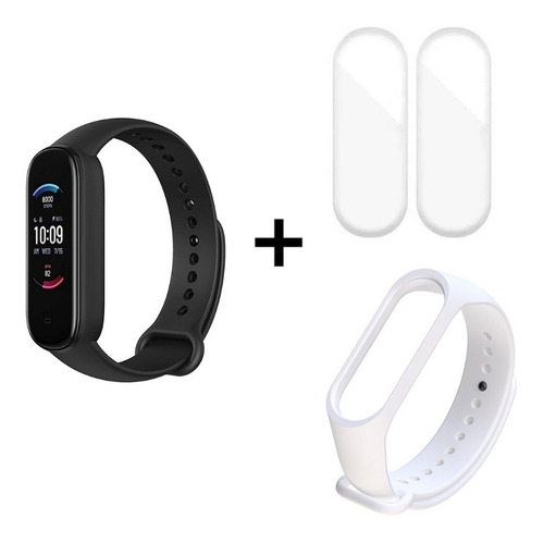 Relógio Amazfit Band 5  Alexa + Pulseira Extra + 2 Películas