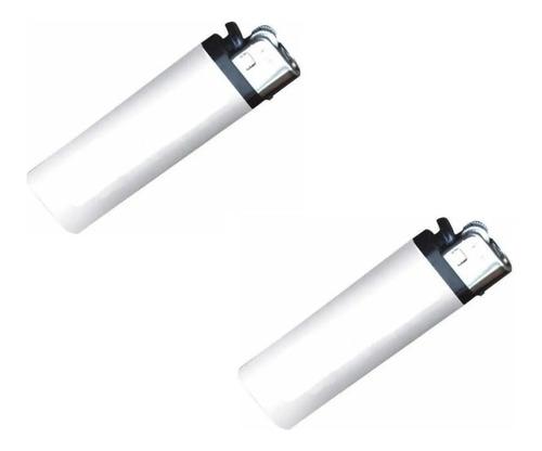 Cajas Encendedor Ignitus Blanco Para Sublimar 50 Piezas