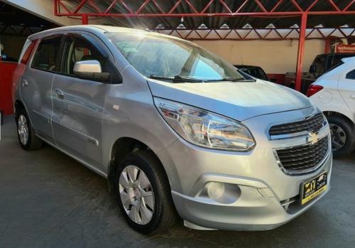 Chevrolet Gm Spin Lt 1.8 Prata 2014