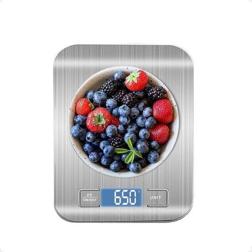 Balança De Cozinha Inox Alta Precisão Digital Para Cozinha