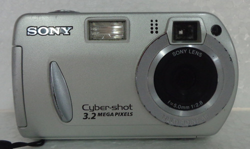 Câmera Fotográfica Sony Cyber shot 3.2 Mp Necessita Revisão