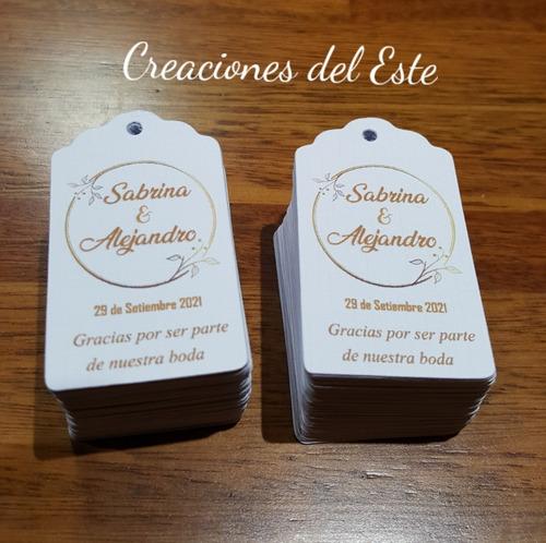 Tags Etiquetas Personalizadas Para Boda O Souvenir   X 10