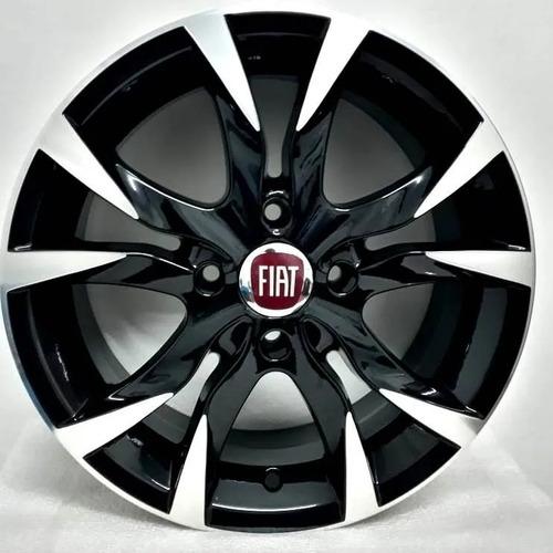 Rodas Fiat Aro 14x6 4x98 Scorro S215 Bicos Frete Grátis