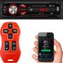 Controle Longa Distância Stetsom Rádio Bluetooth Roadstar