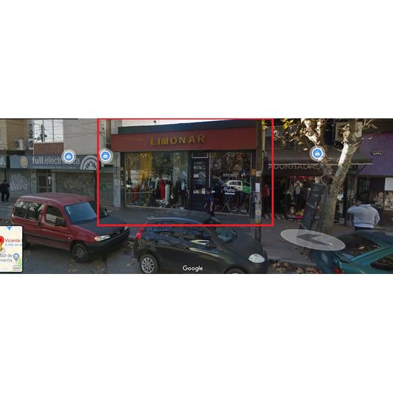 Local En Calle Vicente Lopez Super Comercial De Monte Grande