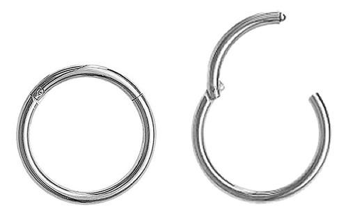Piercing Argola Articulada Click Segmentada Aço Cirúrgico