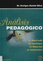 Análisis Pedagógico, Dr. Enrique Daniel Silva