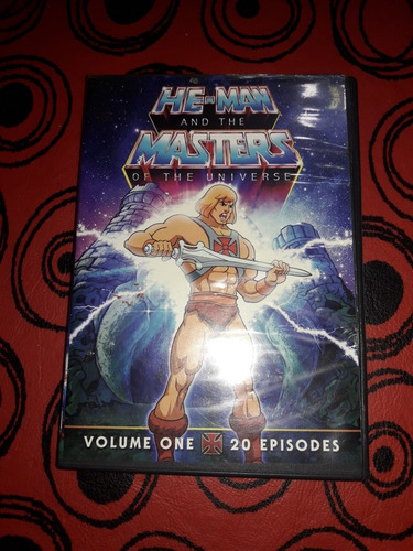 Dvd Serie Animada He Man