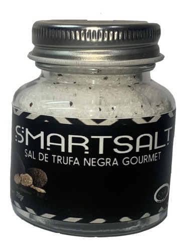 Sal De Trufa Negra Importada Gourmet Smartsalt Smartchips