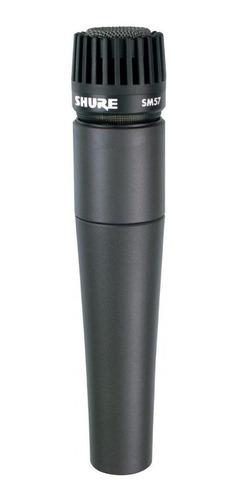 Micrófono Shure Sm Series Sm57-lc Dinámico Cardioide Negro