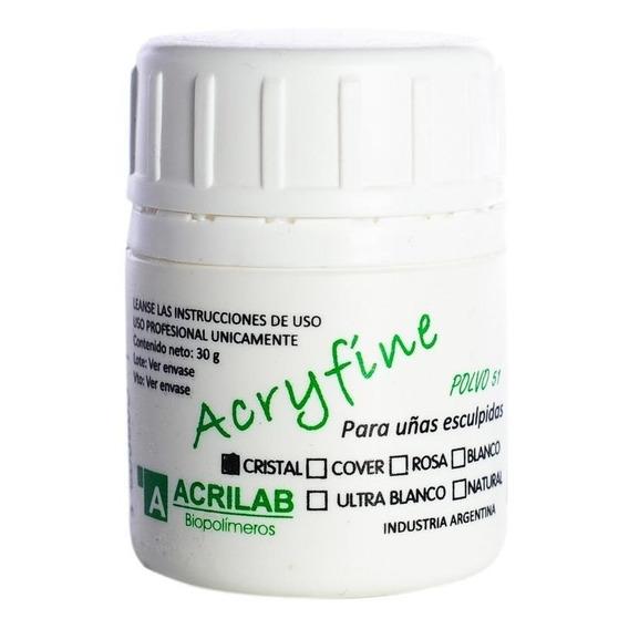 Polímero Acryfine 51 X 30gr. - Uñas Acrílicas