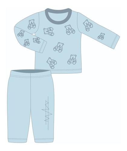 Molde Digital Modelagem De Pijama Infantil De Inverno
