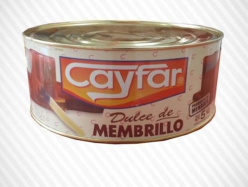 Dulce De Membrillo Cayfar Por 5 Kg
