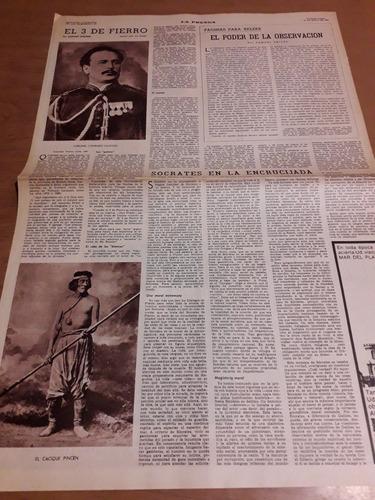 Diario La Prensa Trenque Lauquen Cacique Pincen Villegas1967