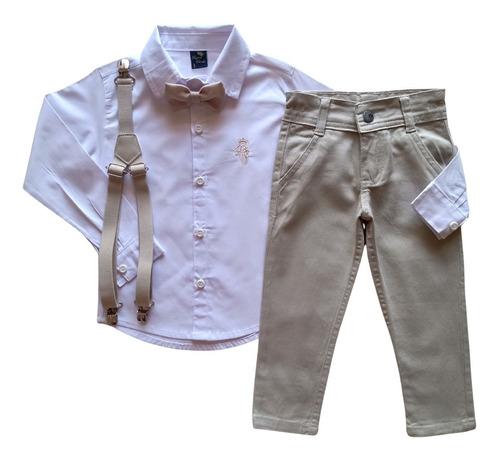 Roupa Social Infantil Masculina - Pajem - Batizado