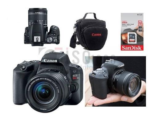 Câmera Canon Sl3 18 55mm Is Stm 4k 32gb Sdhc Nf e brindes