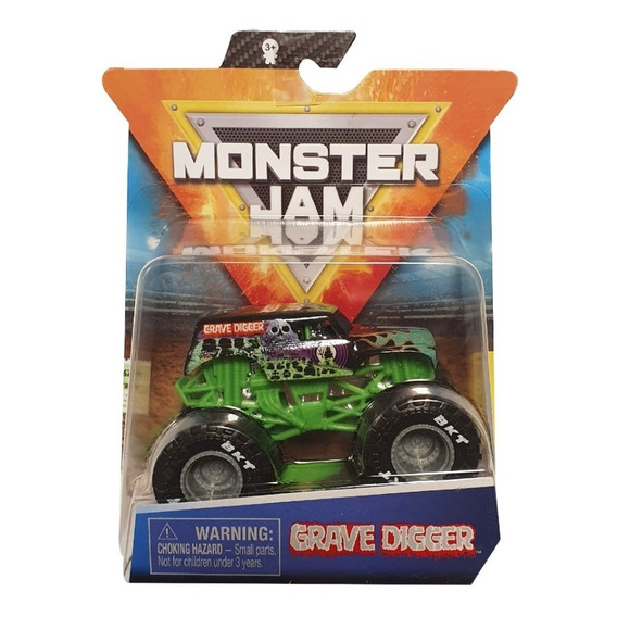 Monster Jam - Vehiculo + Mini Fig - Esc 1:64 (art. 58701)