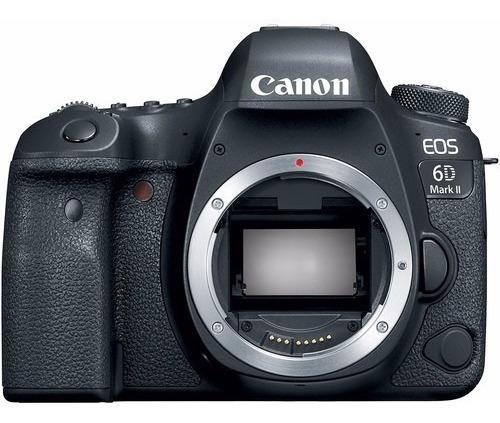 Câmera Digital Canon Eos 6d Mark Ii Corpo Lj. Platinum