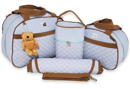 Bolsas De Bebê Saída De Maternidade 4pcs Térmica Impermeável