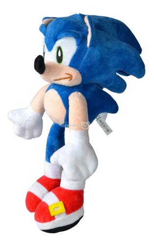 Peluche De Sonic 30cm