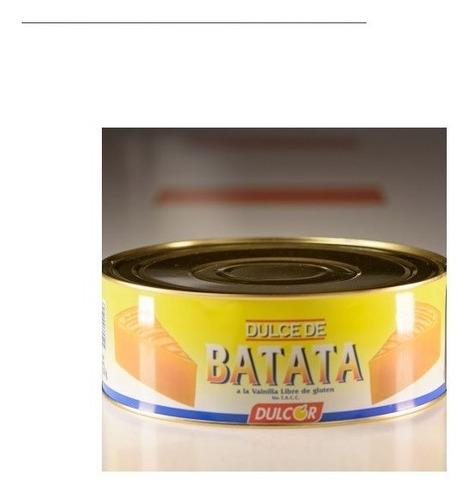 Dulce De Batata A La Vainilla Dulcor Lata X 5kg
