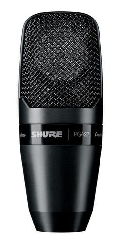 Micrófono Shure Pg Alta Series Pga27 Condensador Cardioide Negro
