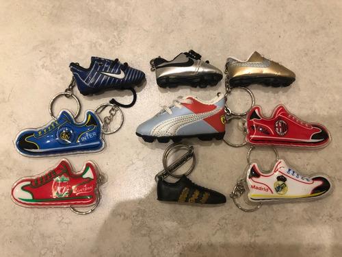 Colección Llaveros Futbol Botines Championes Zapatos Nike
