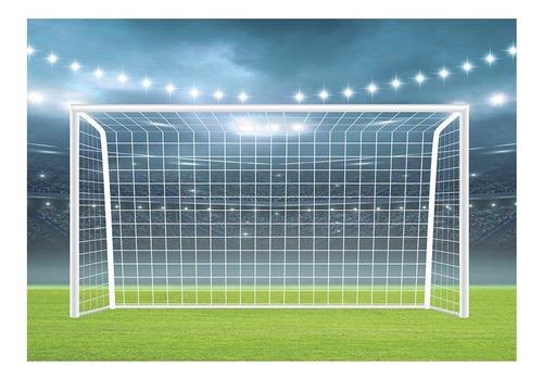 Fundo Fotográfico Campo De Futebol Tecido 1, 20x1, 75 Pn 0207