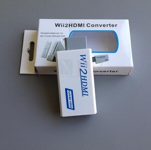 Adaptador Wii A Hdmi Y Audio