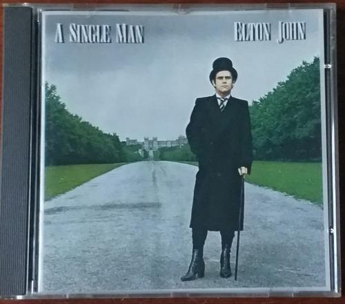 Elton John - A Single Man - 1era Edicion Inglesa - Cd