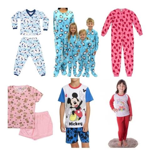 Kit Moldes Pijama Infantil, Macacão, Pijamas Curto E Longo