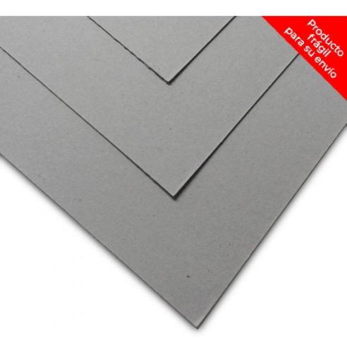 Cartón Gris 1.00/1.20 Mm 105 X 80 Cm - Mosca