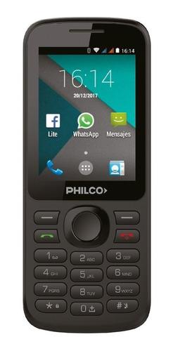 Philco P241 Dual Sim 512 Mb Negro 256 Mb Ram