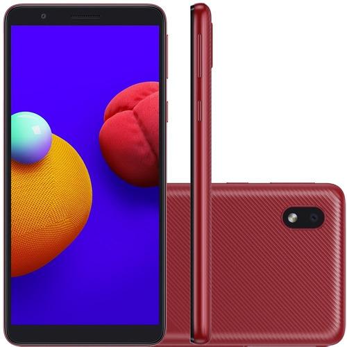 Celular Samsung Galaxy A01 Core Dual 32gb 2gb Ram Vermelho