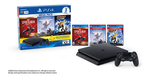 Playstation 4 Megapack 15  Ps4 3 Juegos + Joystick