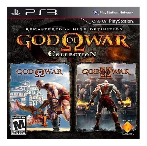 God Of War: Collection Sony Ps3  Digital