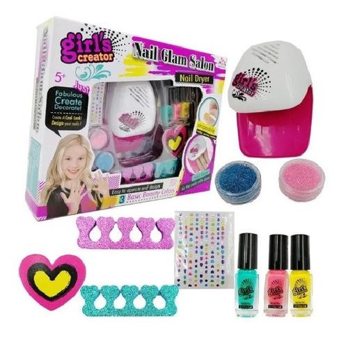 Kit Manicure Para Uñas Set Niñas