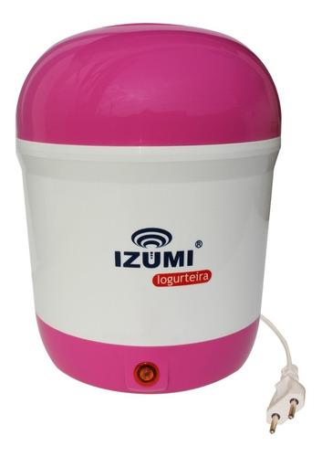 Iogurteira Izumi Outubro Rosa Edição Limitada Garantia 6 M