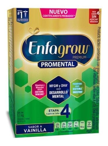 Fórmula Infantil En Polvo Mead Johnson Enfagrow Premium 4 Vainilla  En Caja 1.1kg