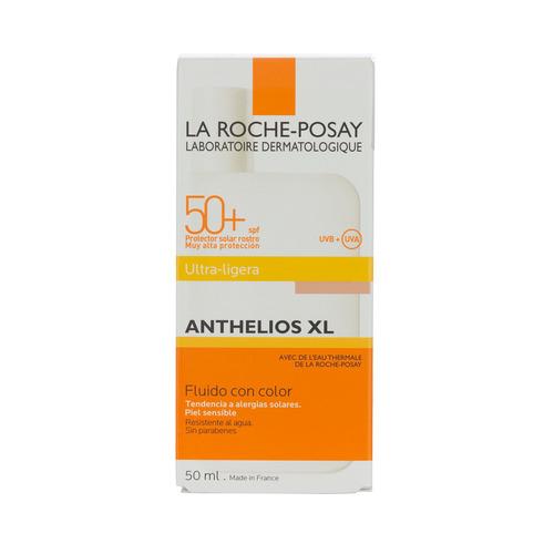 Protector Solar La Roche-posay Anthelios Xl Ultra Fluído Con Color Shaka-shaka Resistente Al Agua Fps50 X 50ml