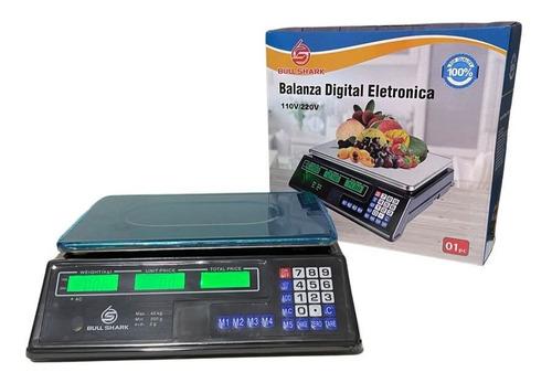 Balança Eletrônica Digital De 2g Até 40kg Quilos Bivolt