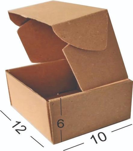 Caja En Cartón Microcorrugado Kraf X 20 Unidades