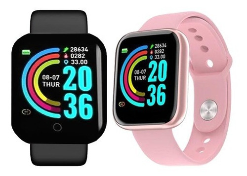 Relógio Inteligente Smartwatch Movimento Pedômetro Bluetooth