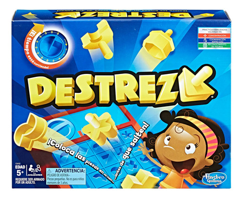 Hasbro Gaming Juego De Mesa Destreza