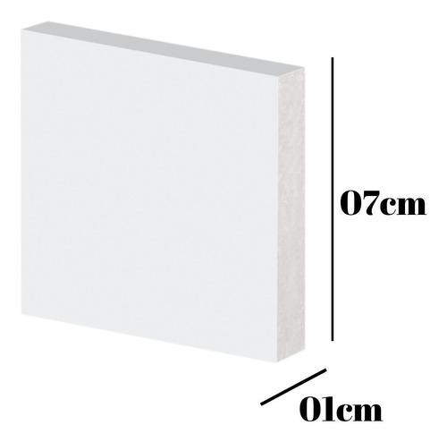 Rodape-guarnicao Poliestireno Slim 7x1x225cm (barra)