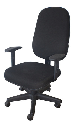 Cadeira Presidente Giratória Flex C/ Lamina E B. Regulavel