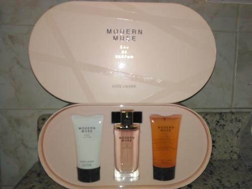 Set De Perfume Estée Lauder Modern Muse De 50ml Para Dama