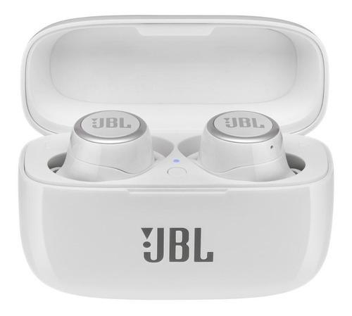 Fone De Ouvido Jbl Live300 Tws Sem Fio Bluetooth Branco