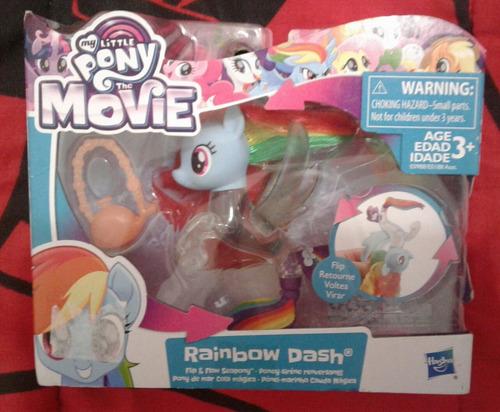 My Little Pony - The Movie (rainbow Dash/princesa Celestia)