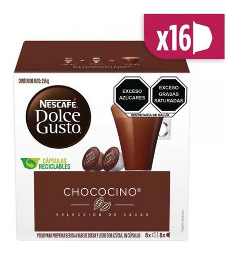 Nescafé Dolce Gusto 16 Cápsulas Sabor Chococino En Oferta!!!
